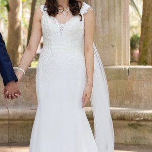 "Stella York ""Casual Chic Wedding Dress Style 6477"""